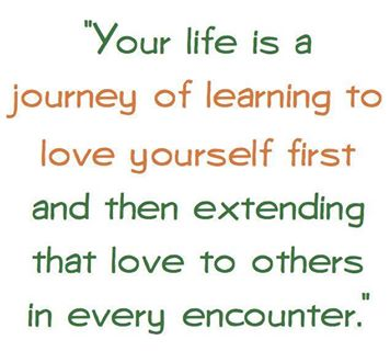 Quote Love Yourself So That Marsha Egan